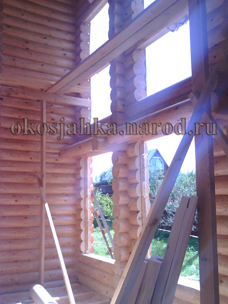 Как вырезать оконный проем в деревянном доме